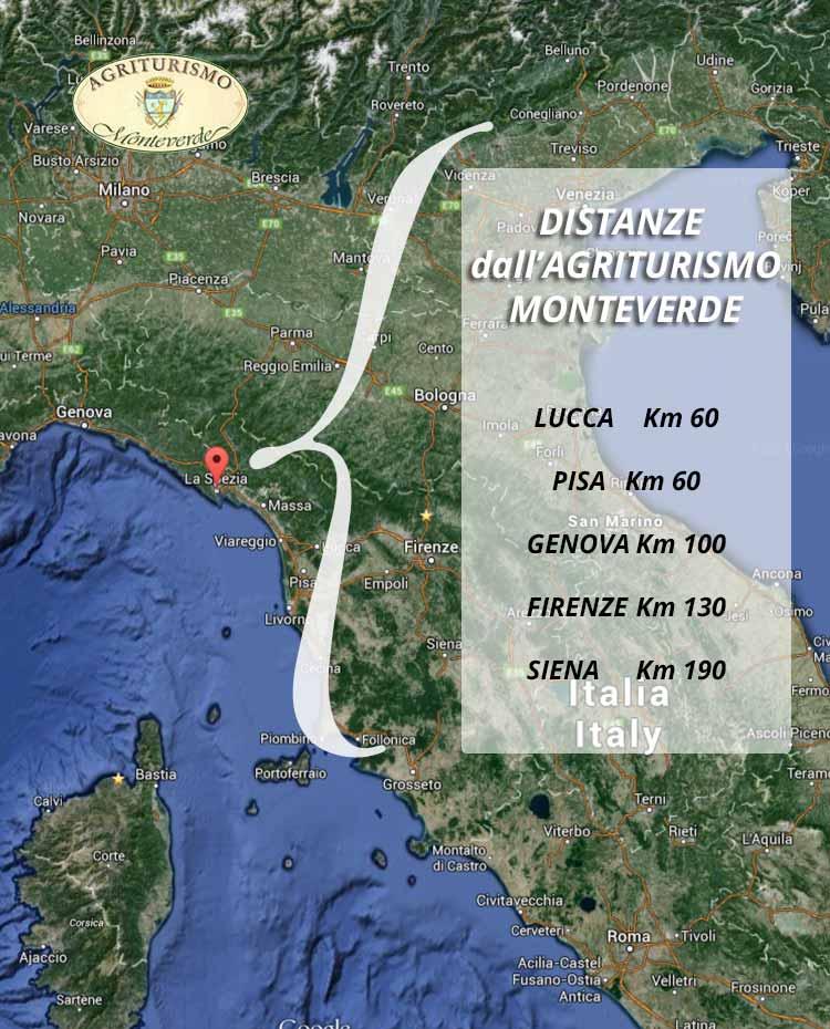 Map Distances